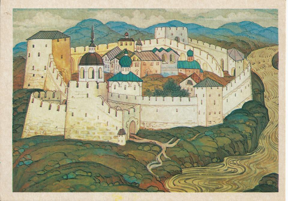замки древней руси картинки