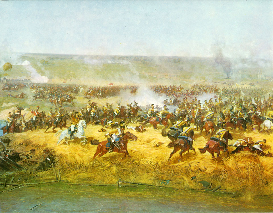 Открытки бородинская битва, днем
