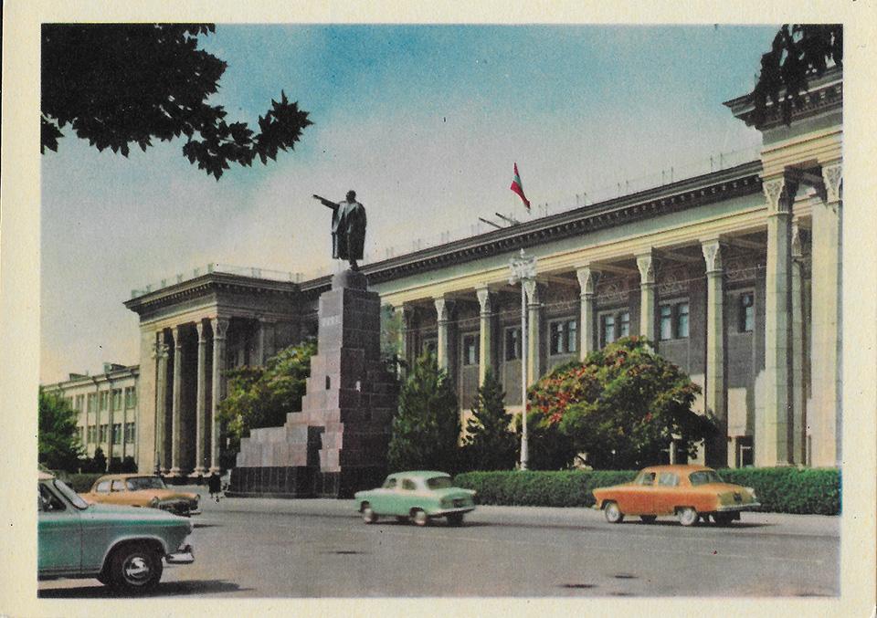 Ташкент советские открытки, картинка водкой ведьмы